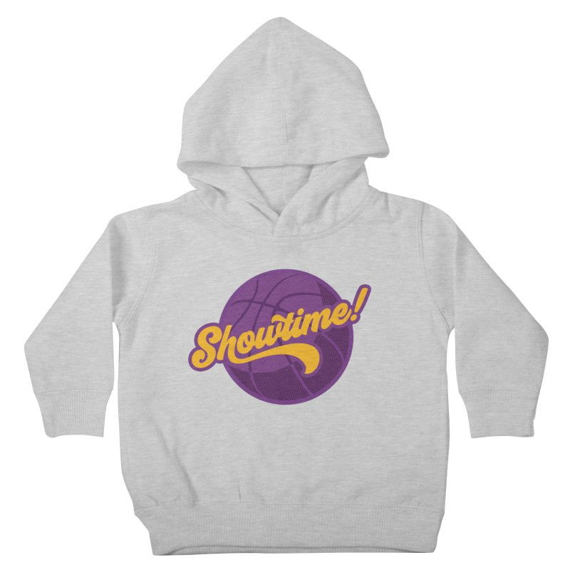 Showtime! Kids Toddler Pullover Hoody by Lakers Nation's Artist Shop