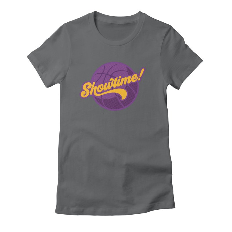 Showtime! Women's Fitted T-Shirt by lakersnation's Artist Shop