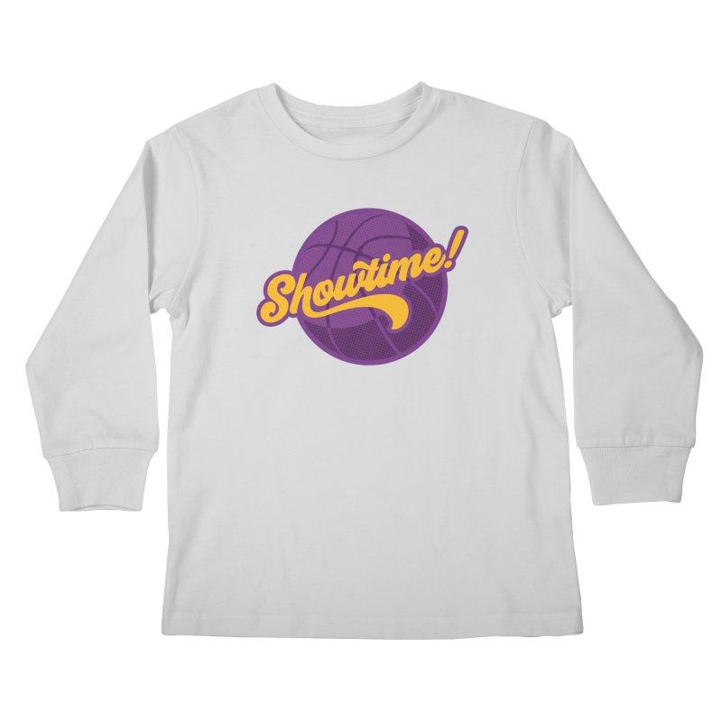 Showtime! Kids Longsleeve T-Shirt by lakersnation's Artist Shop