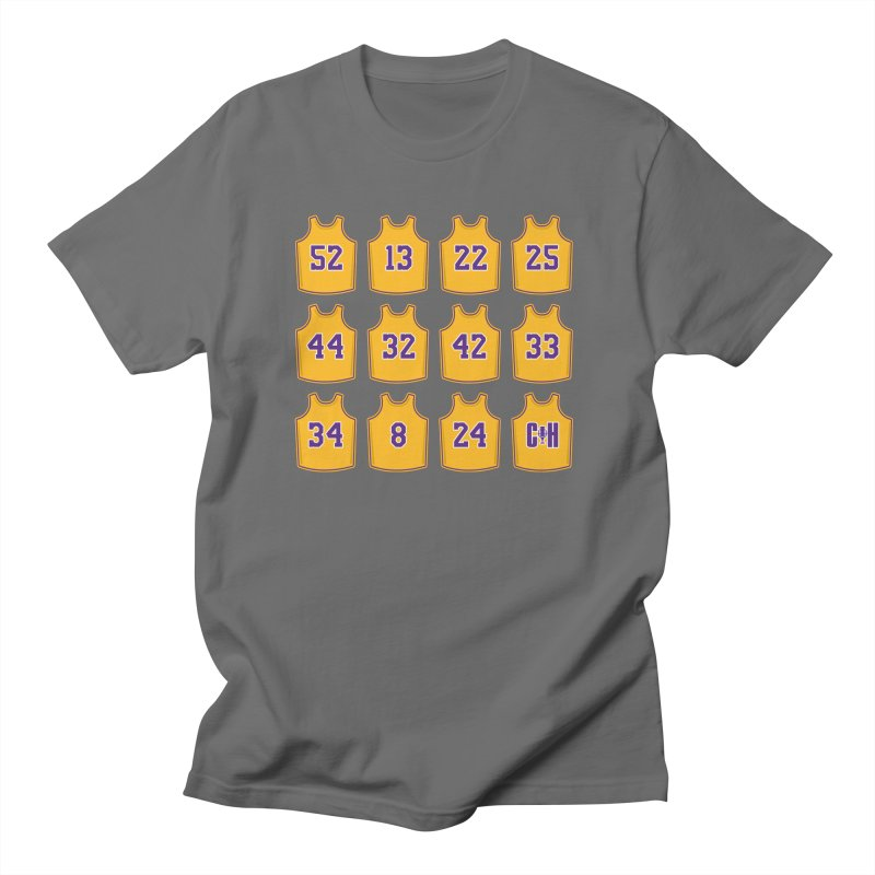 Retired Men's T-Shirt by Lakers Nation's Artist Shop