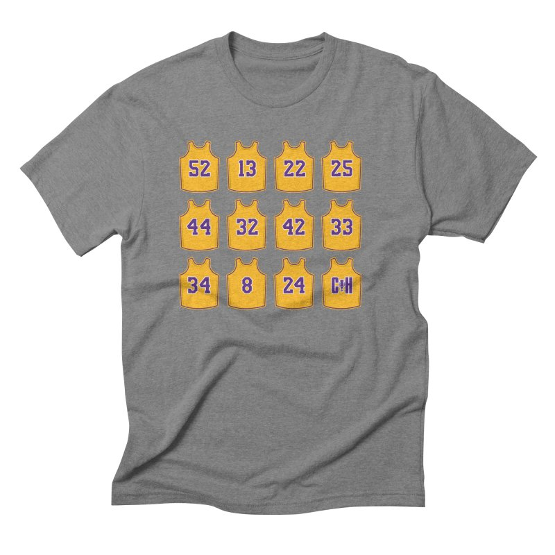 Retired Men's T-Shirt by lakersnation's Artist Shop