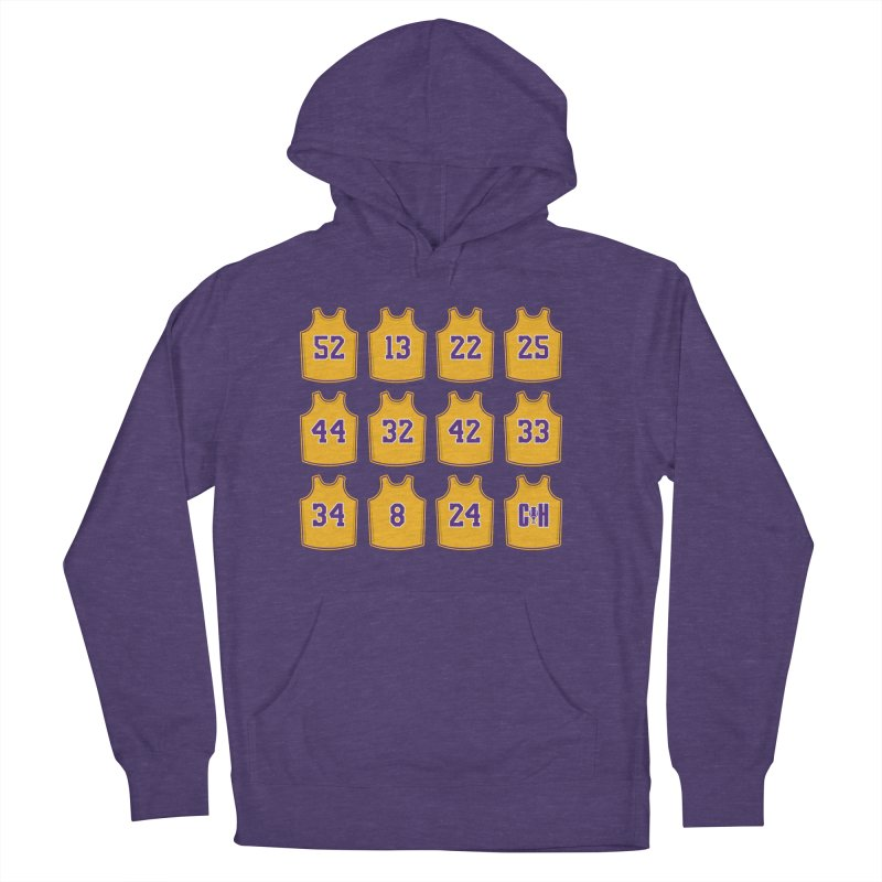 Retired Women's French Terry Pullover Hoody by lakersnation's Artist Shop
