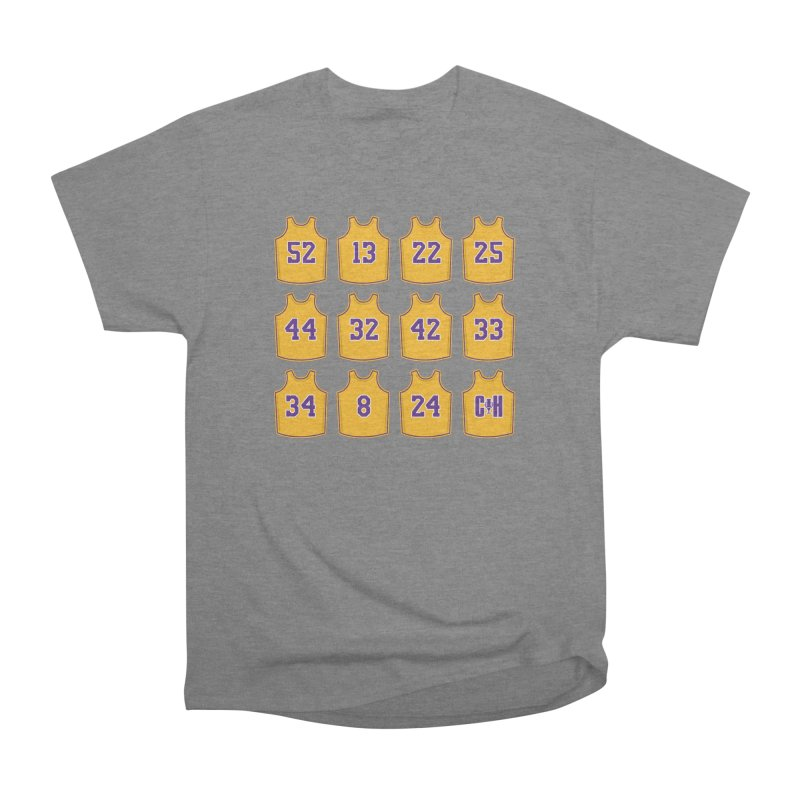 Retired Women's Heavyweight Unisex T-Shirt by Lakers Nation's Artist Shop
