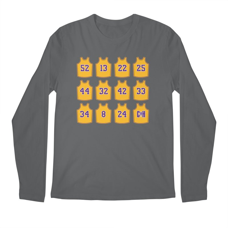 Retired Men's Longsleeve T-Shirt by Lakers Nation's Artist Shop