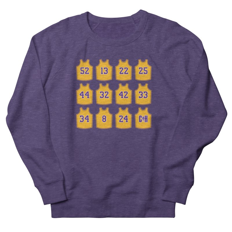 Retired Men's Sweatshirt by Lakers Nation's Artist Shop