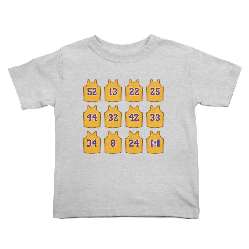 Retired Kids Toddler T-Shirt by lakersnation's Artist Shop