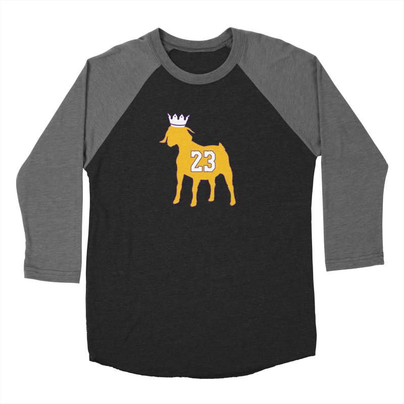 The GOAT? Women's Longsleeve T-Shirt by Lakers Nation's Artist Shop