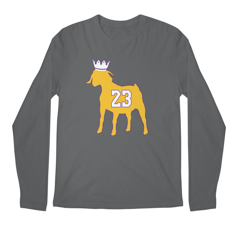 The GOAT? Men's Regular Longsleeve T-Shirt by Lakers Nation's Artist Shop