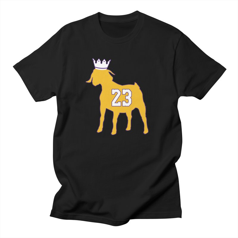 The GOAT? Men's Regular T-Shirt by Lakers Nation's Artist Shop
