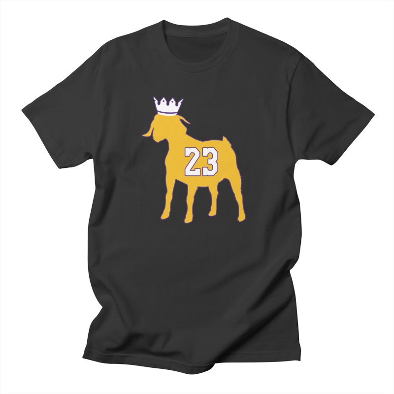 The GOAT? Men's T-Shirt by Lakers Nation's Artist Shop