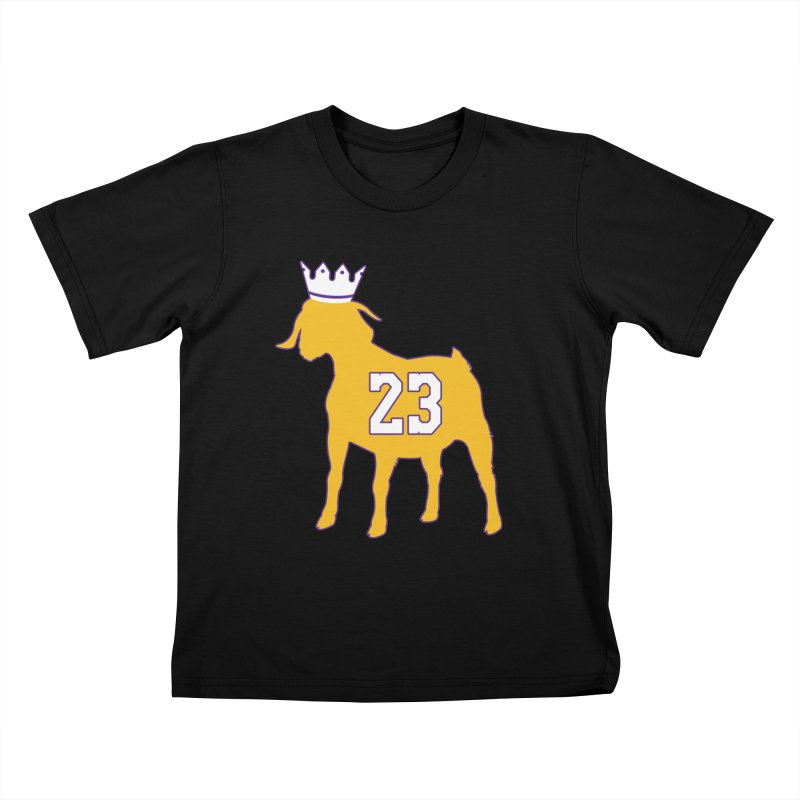 The GOAT? Kids T-Shirt by lakersnation's Artist Shop