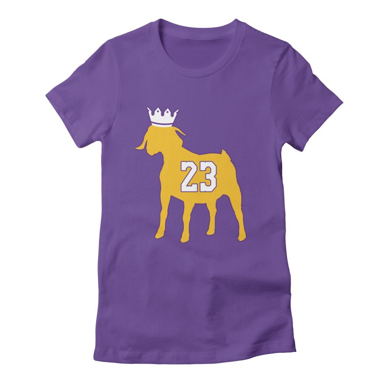 The GOAT? Women's T-Shirt by Lakers Nation's Artist Shop
