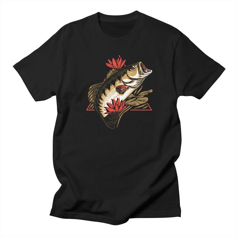 Explotus Men's T-Shirt by lakespirit fishing art