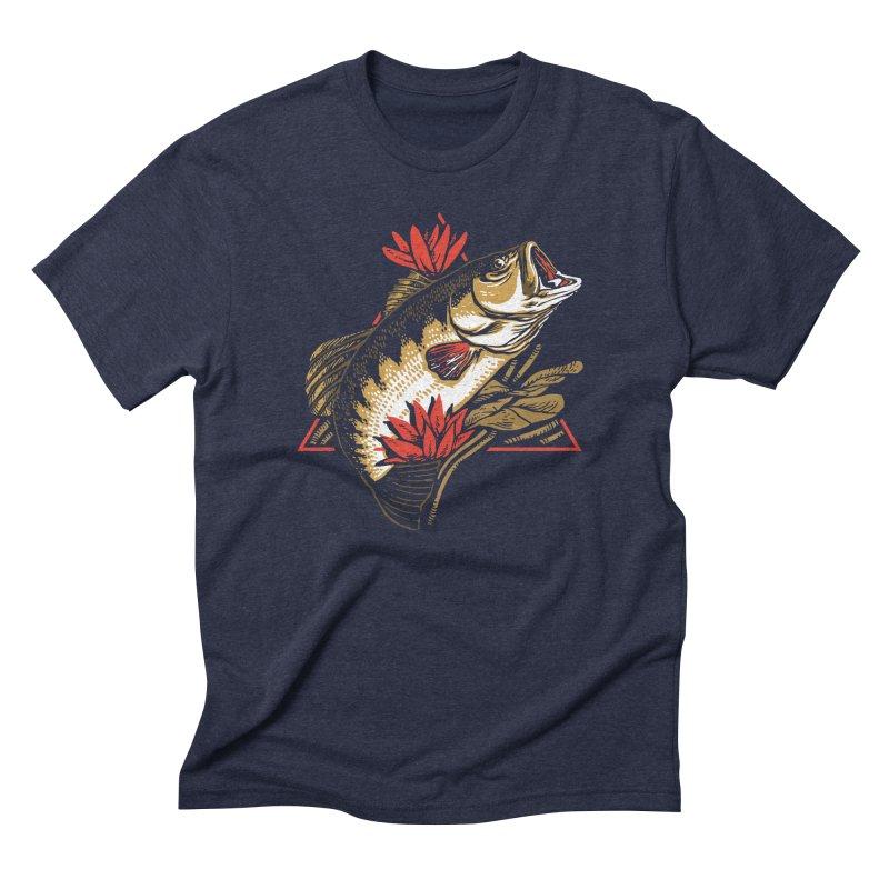Explotus Men's Triblend T-shirt by lakespirit fishing art