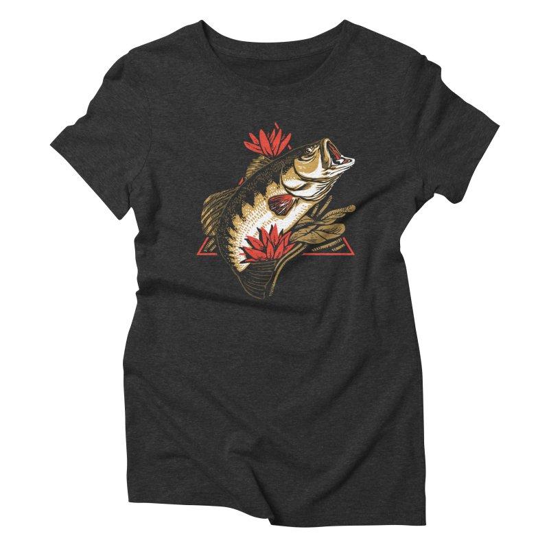 Explotus Women's Triblend T-Shirt by lakespirit fishing art