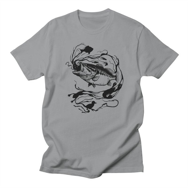 Breath Of Greed Women's Unisex T-Shirt by lakespirit fishing art