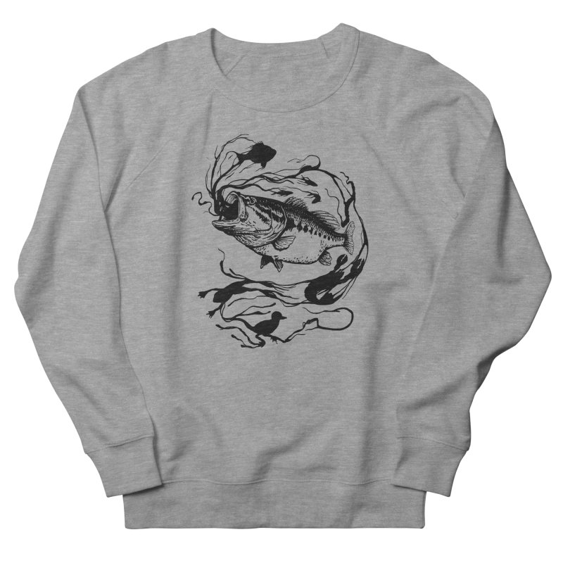Breath Of Greed Women's Sweatshirt by lakespirit fishing art