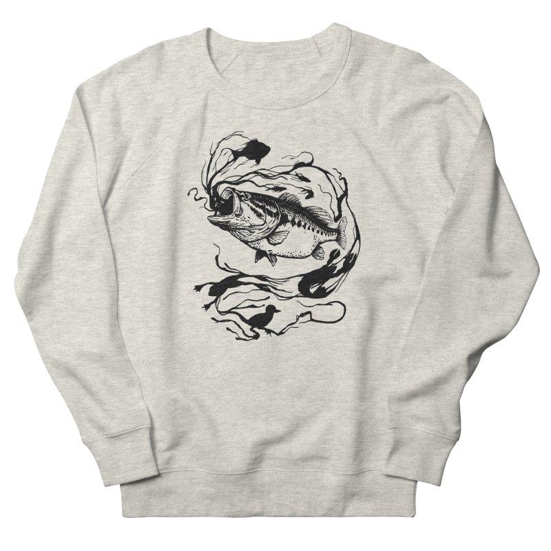 Breath Of Greed Women's Sweatshirt by lakespirit fishing art