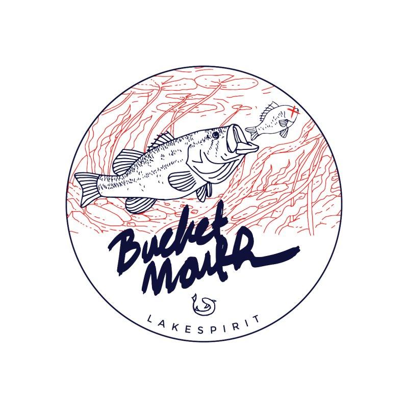 Bucketmouth by lakespirit fishing art
