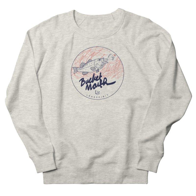 Bucketmouth Women's Sweatshirt by lakespirit fishing art