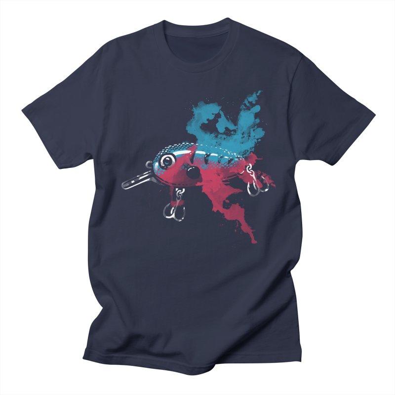 Cranky Diver Women's Unisex T-Shirt by lakespirit fishing art