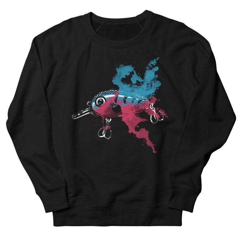 Cranky Diver Women's Sweatshirt by lakespirit fishing art