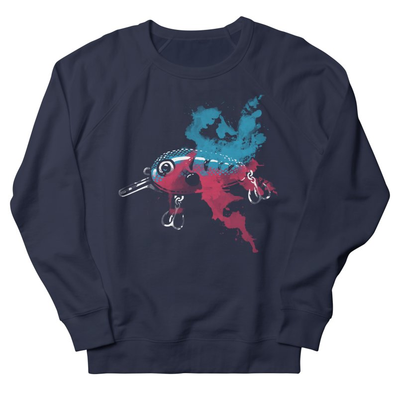 Cranky Diver Women's Sweatshirt by lakespirit fishing art