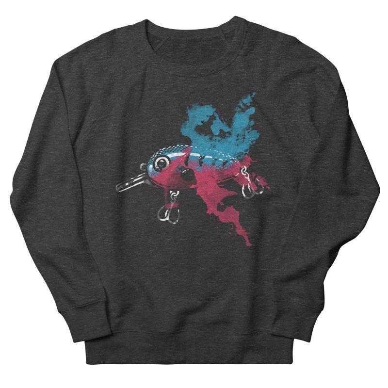 Cranky Diver Men's Sweatshirt by lakespirit fishing art