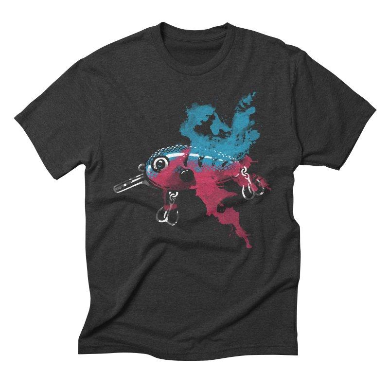 Cranky Diver Men's Triblend T-Shirt by lakespirit fishing art