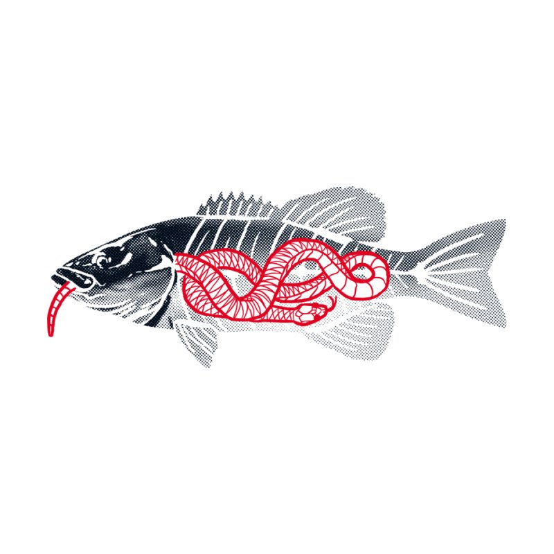 Hawg Bite by lakespirit fishing art