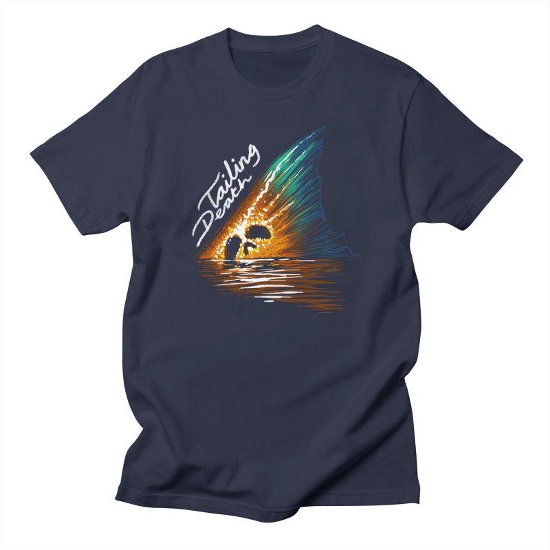 Tailing Death Men's T-Shirt by lakespirit fishing art