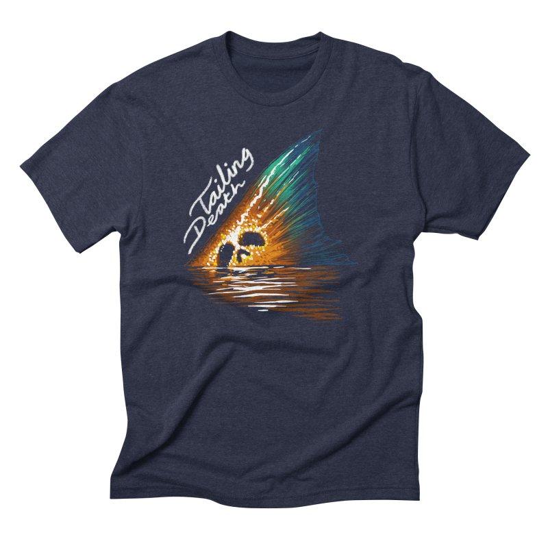 Tailing Death Men's Triblend T-Shirt by lakespirit fishing art