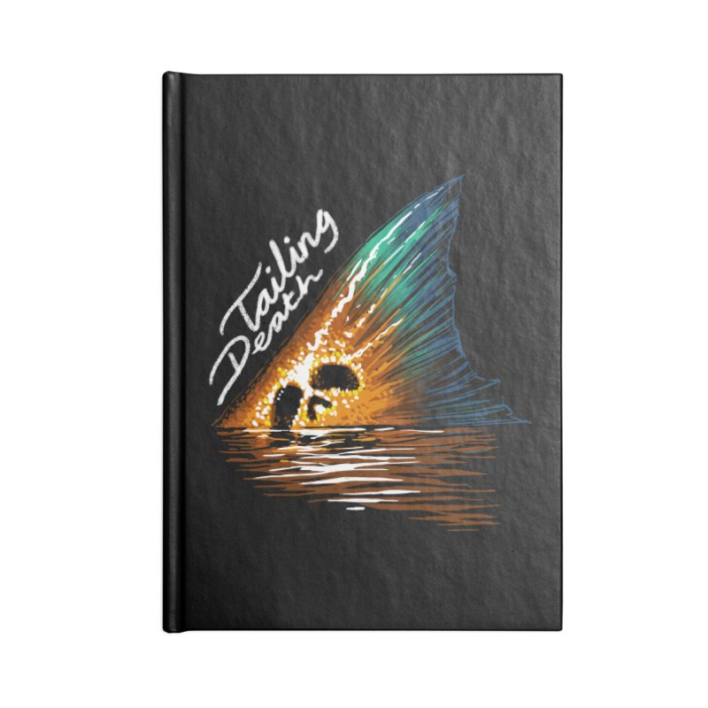 Tailing Death Accessories Notebook by lakespirit fishing art
