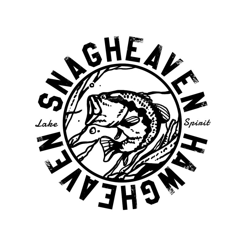 Snag Heaven Men's Zip-Up Hoody by lakespirit fishing art