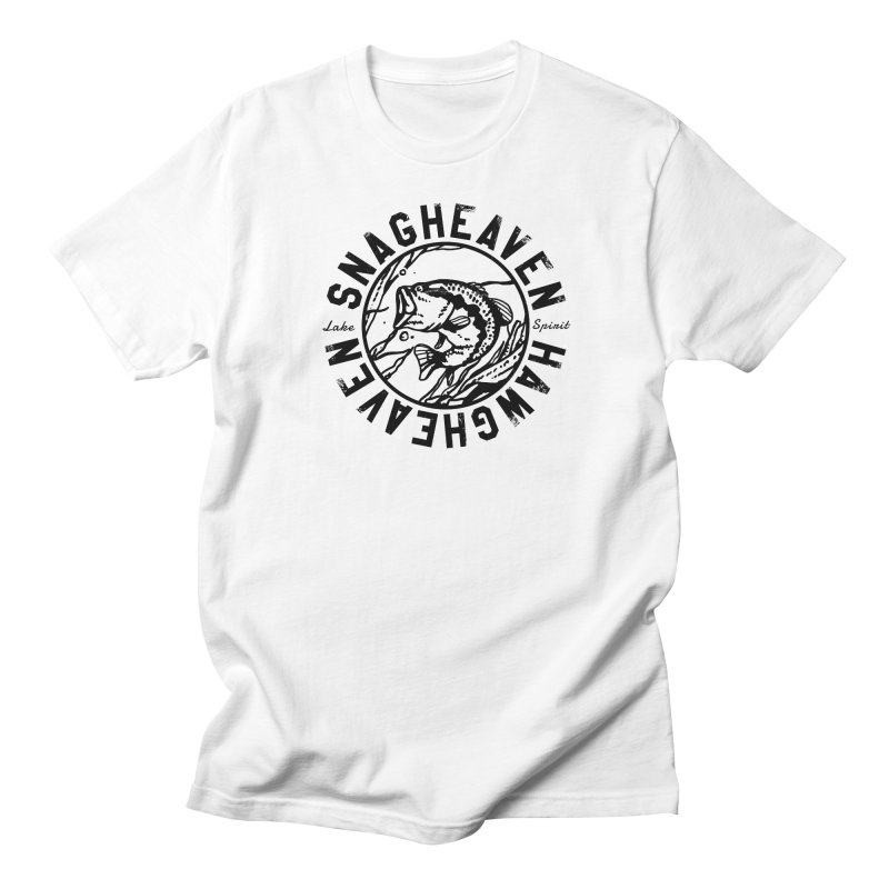 Snag Heaven Men's T-Shirt by lakespirit fishing art