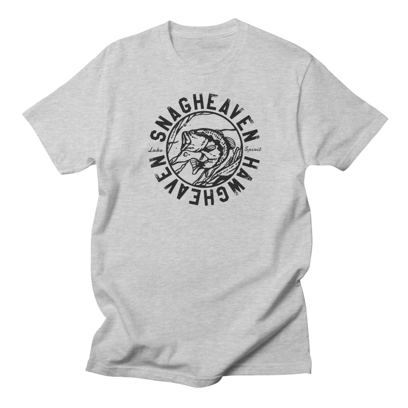 Snag Heaven Men's T-shirt by lakespirit fishing art