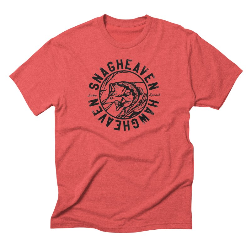 Snag Heaven Men's Triblend T-Shirt by lakespirit fishing art