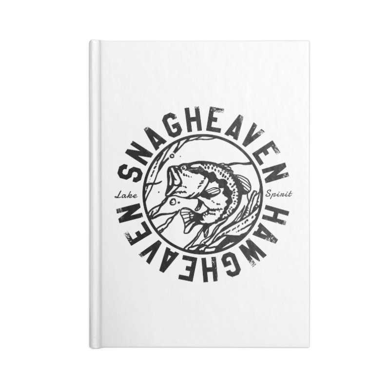 Snag Heaven Accessories Notebook by lakespirit fishing art