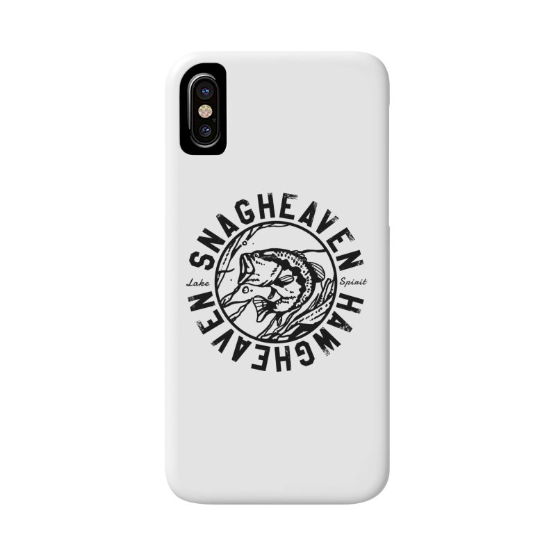 Snag Heaven Accessories Phone Case by lakespirit fishing art