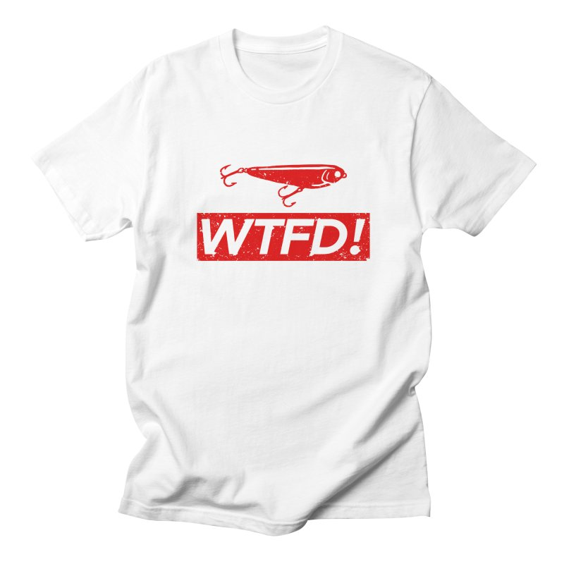 WTFD! Men's T-shirt by lakespirit fishing art