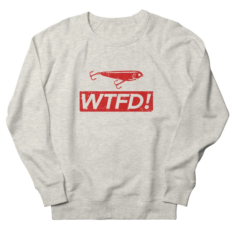 WTFD! Men's Sweatshirt by lakespirit fishing art