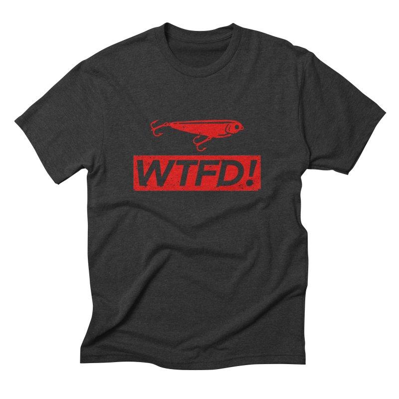 WTFD! Men's Triblend T-Shirt by lakespirit fishing art