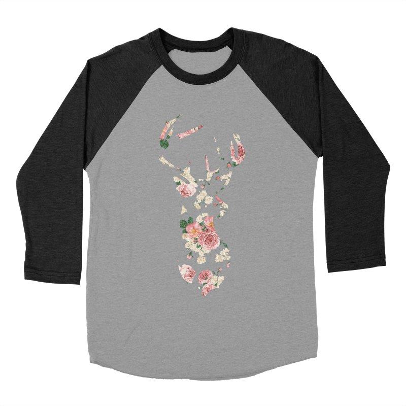 Deer Women's Baseball Triblend T-Shirt by Lakeview Boulevard