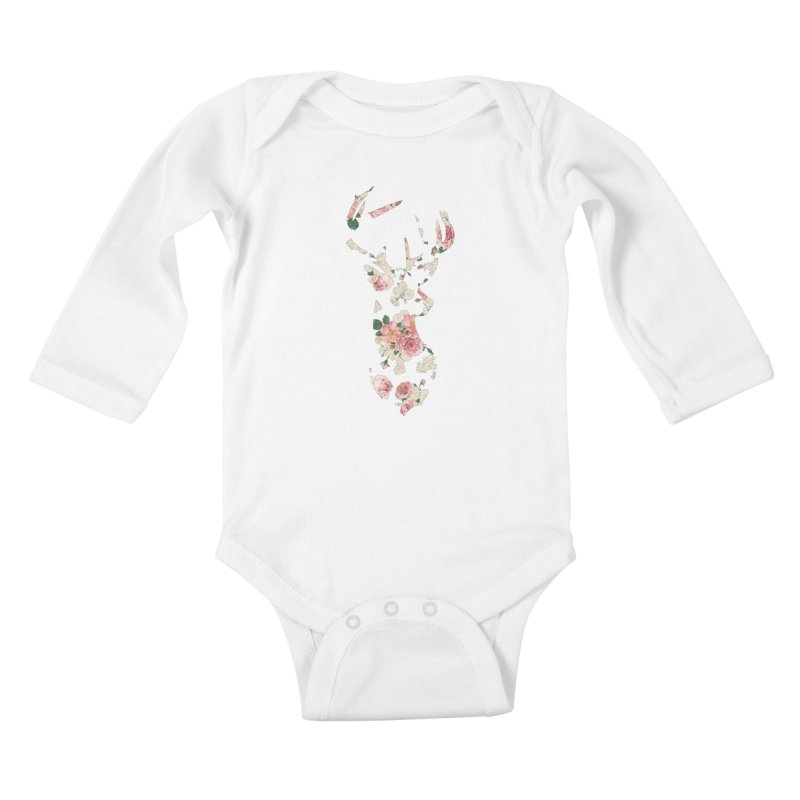 Deer Kids Baby Longsleeve Bodysuit by Lakeview Boulevard