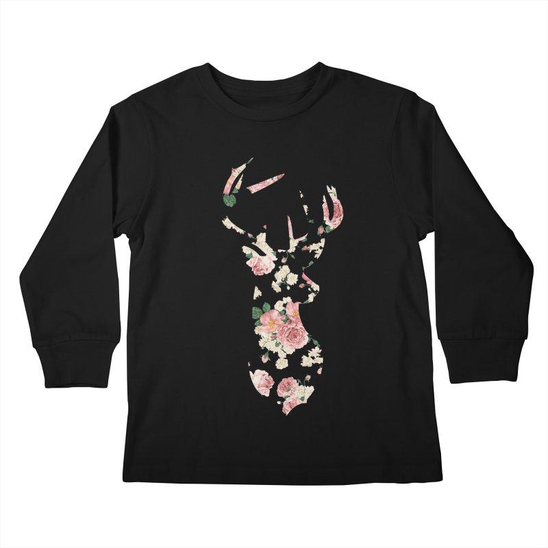 Deer Kids Longsleeve T-Shirt by Lakeview Boulevard