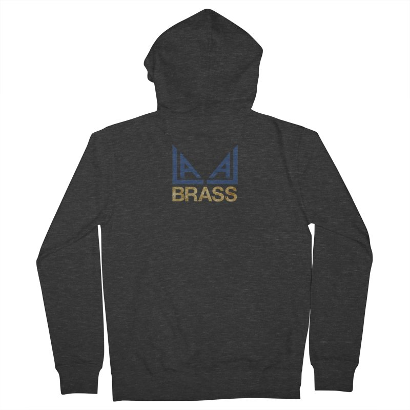 LALA Brass Women's French Terry Zip-Up Hoody by LALA Brass Merch Shop