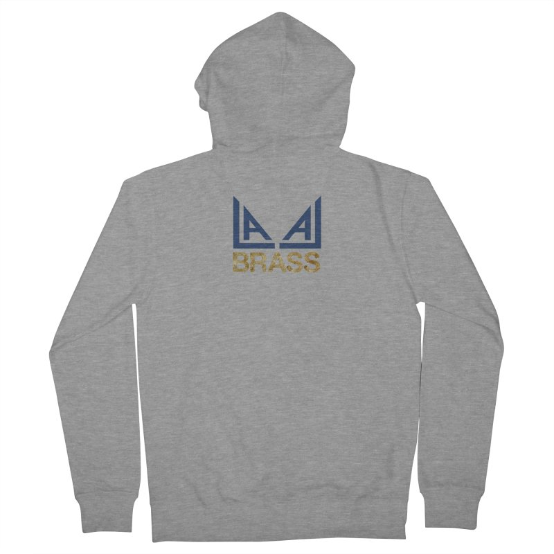 LALA Brass Men's French Terry Zip-Up Hoody by LALA Brass Merch Shop
