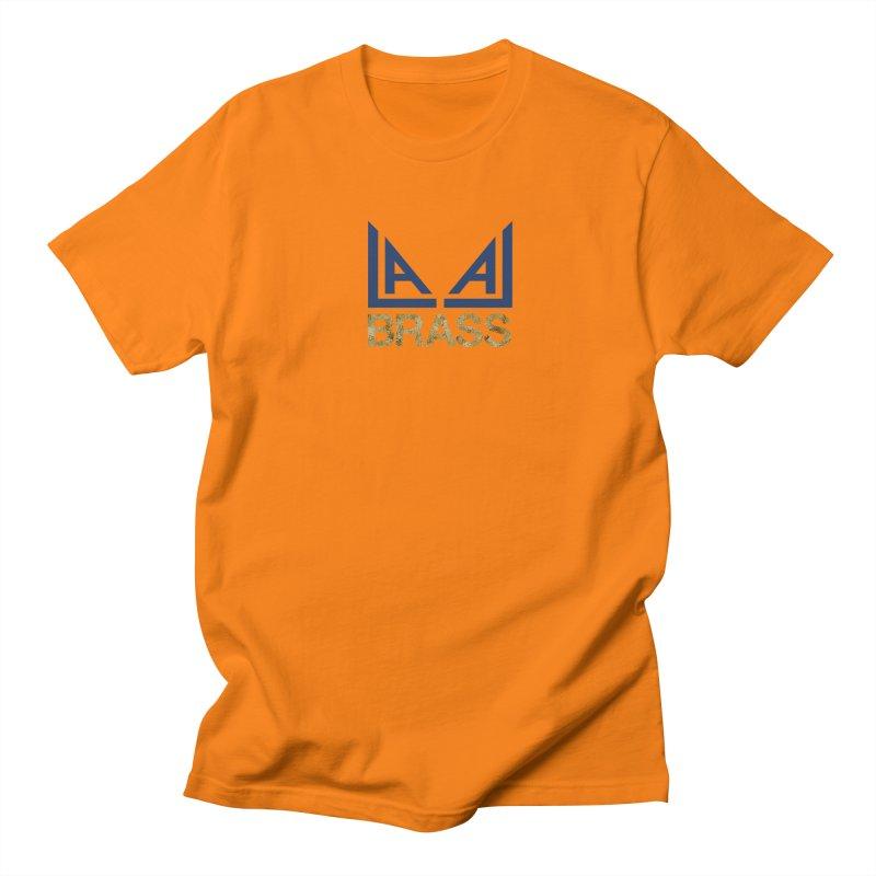 LALA Brass Men's Regular T-Shirt by LALA Brass Merch Shop