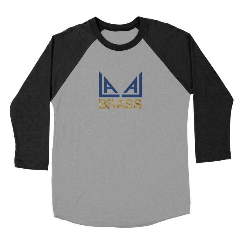 LALA Brass Men's Baseball Triblend Longsleeve T-Shirt by LALA Brass Merch Shop