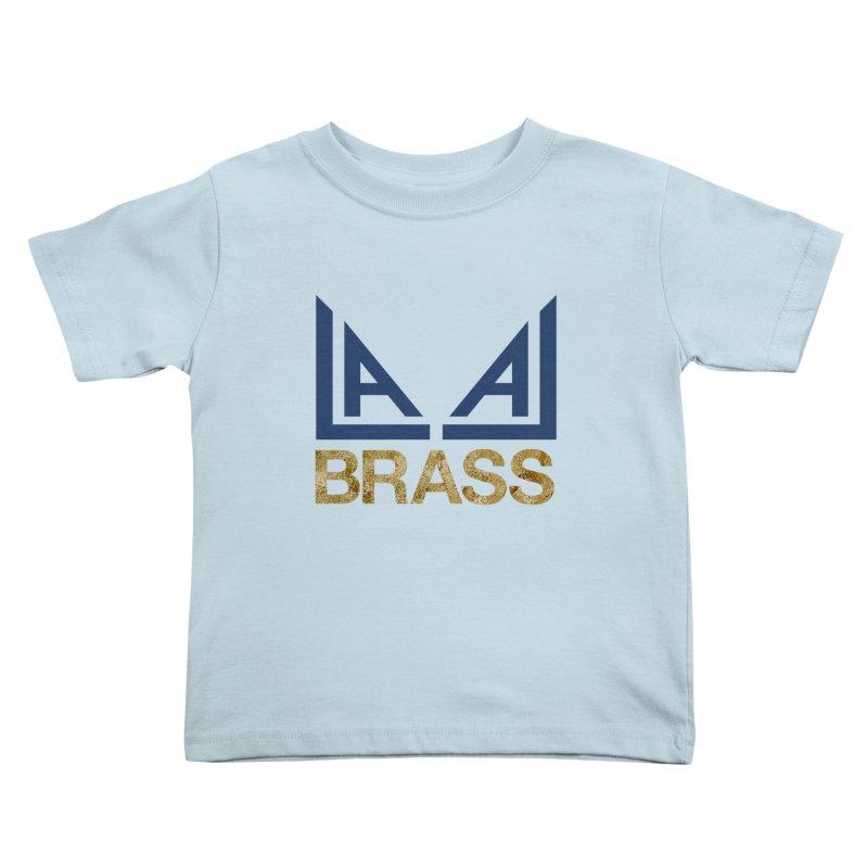 LALA Brass Kids Toddler T-Shirt by LALA Brass Merch Shop